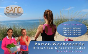 Power-Wochenende mit Bintu Cham & Kristina Lüdke